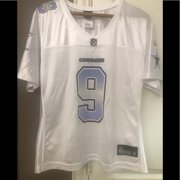 64dae16423d Girls TONY ROMO Dallas Cowboys Reebok Jersey XL. M_5bd477bad6dc52b0cc882aad